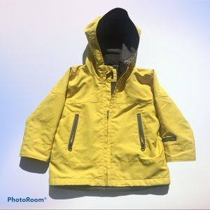 Baby Gap Toddler Jersey-Lined Yellow Windbuster